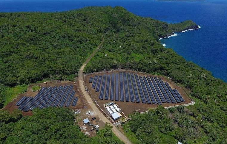 Welcome to the island of Ta'u – (almost) entirely powered by solar panels