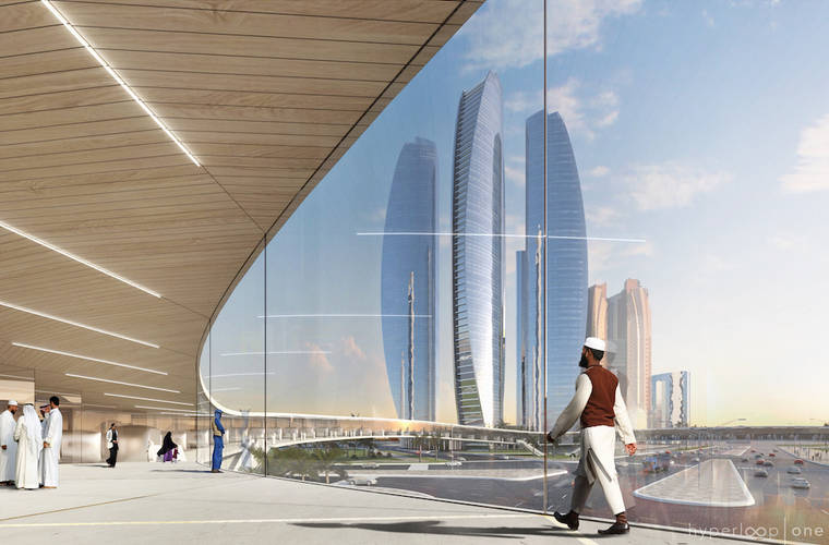 Plans for a Working Hyperloop to Connect Dubai to Abu Dhabi Accelerate
