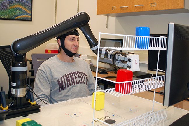 Meet the Robotic Arm you can control with your mind.