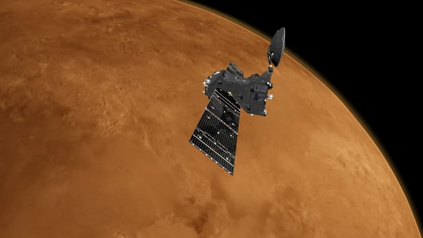 ESA Mars orbiter is preparing for atmosphere plunge