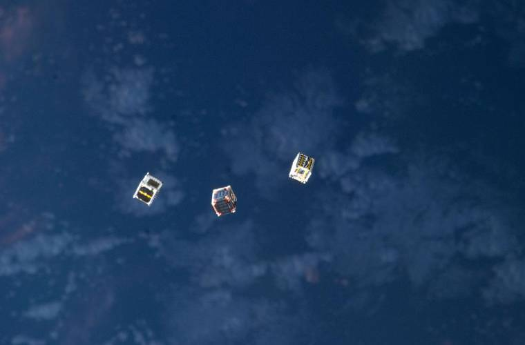 #cubesat India set to launch 100+ satellites in a single mission
