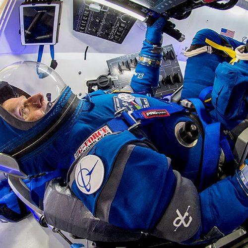 Suit Up - Boeing Reveals Sleeker & Cooler Starliner Spacesuit
