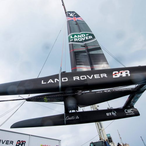 Could British Engineering win the America's Cup for the first time in 166 years?