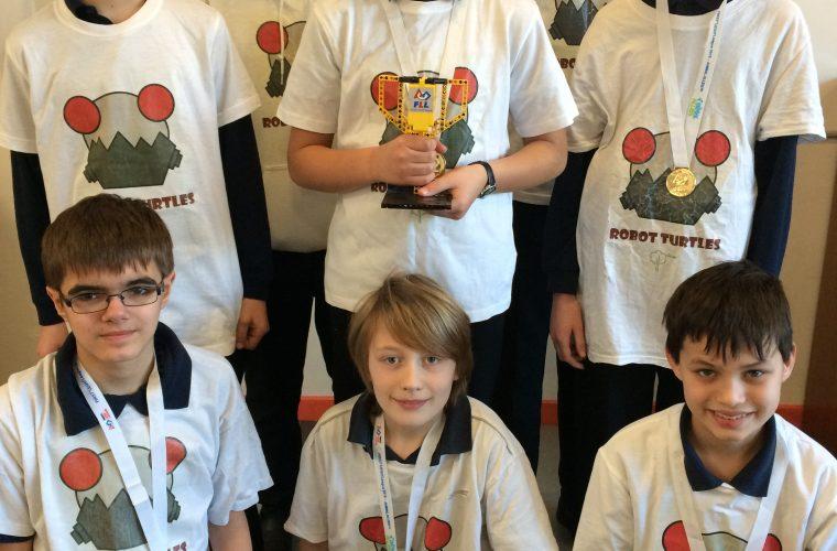 FIRST LEGO League – Dr Kim Cave-Ayland mentors Robot Turtles