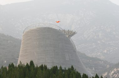 "engineering careers  Wind tunnel allows monks to fly above ""Shaolin Flying Monks Temple"""