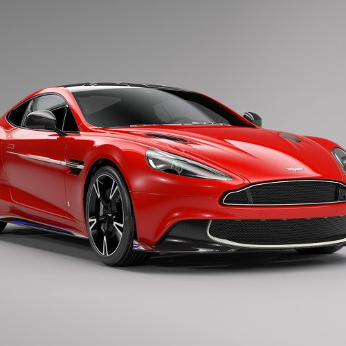 New Images of the Aston Martin Vanquish S Red Arrows Edition Q