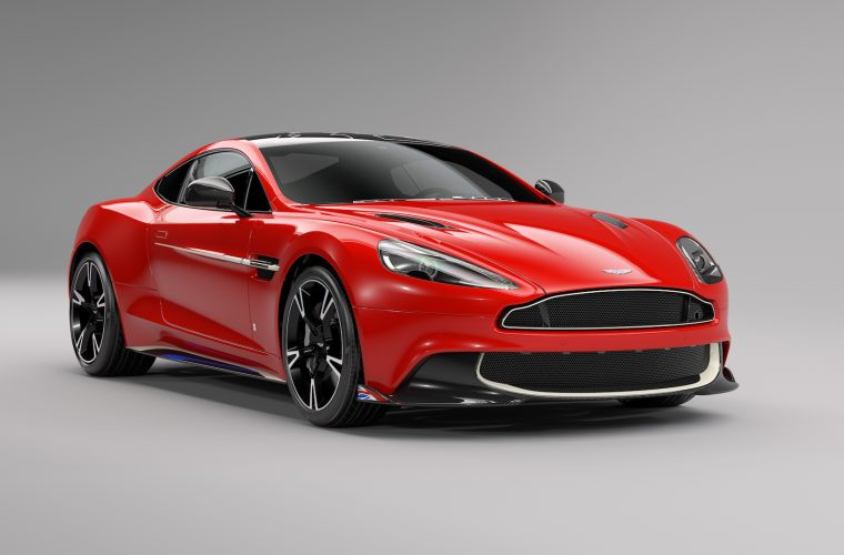 "New Images of the Aston Martin Vanquish S Red Arrows Edition ""Q"""