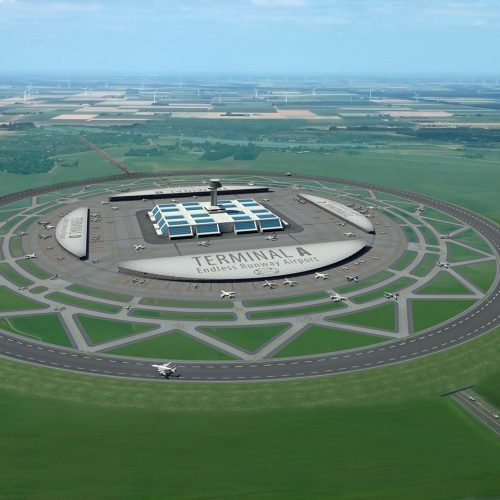Are circular runways going to take off?