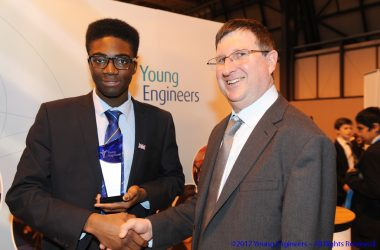 engineering careers  Young Engineer winners announced at the Big Bang Fair 2017