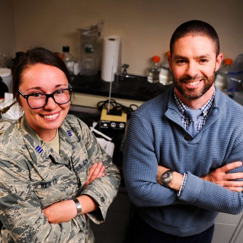 Air Force Academy cadet creates bullet-stopping gravy body armour