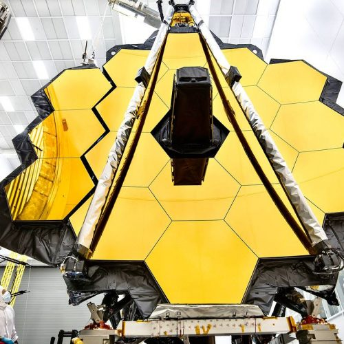 The James Webb Space Telescope Primary Mirror is being Prepared for Testing