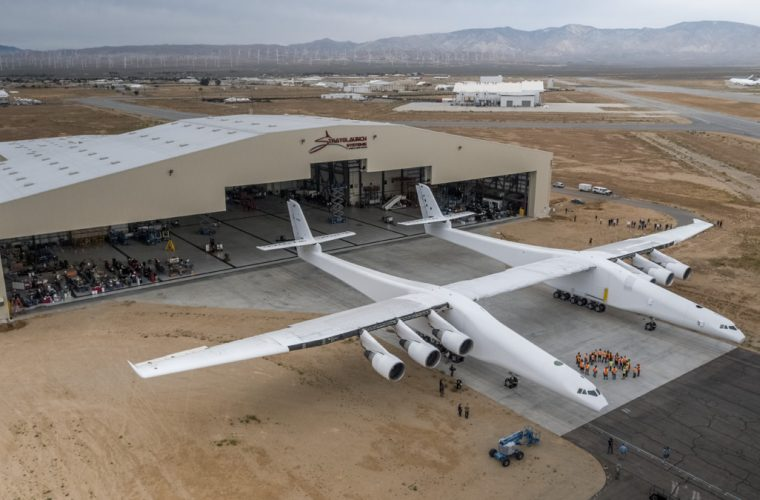 Must Watch – World's largest plane (by wingspan) rolls out of hanger