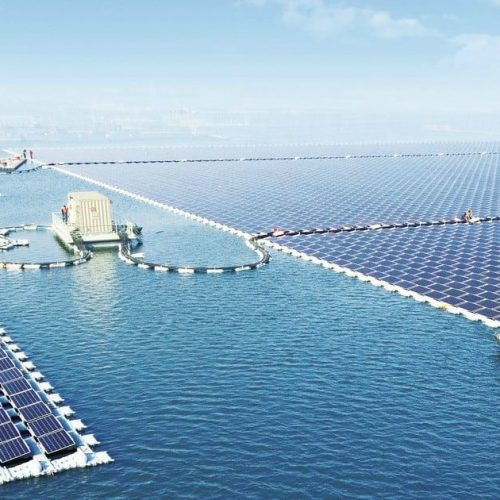 Construction is now complete on the largest floating solar farm on Earth