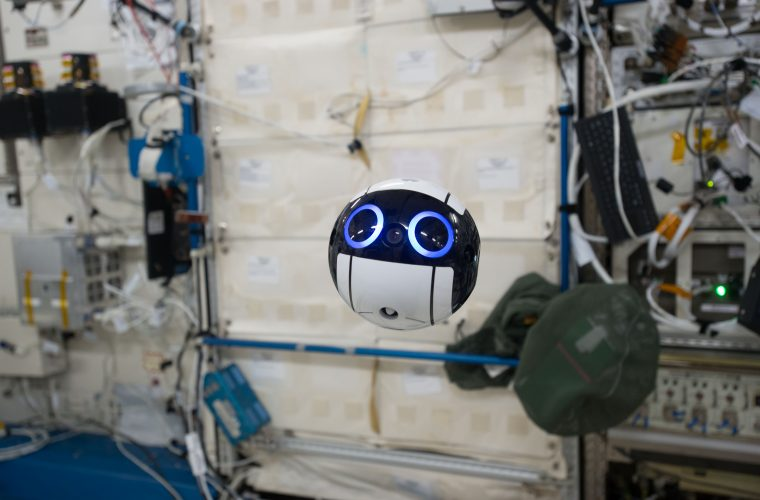 How Japan's adorable zero-gravity space drone navigates ISS