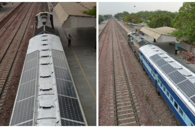 engineering careers  India rolls out solar-powered train coaches that'll will save thousands of litres of diesel