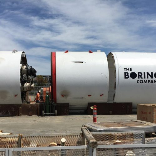 Boring News - 'The Boring Company' announces that its first car elevator is almost operational