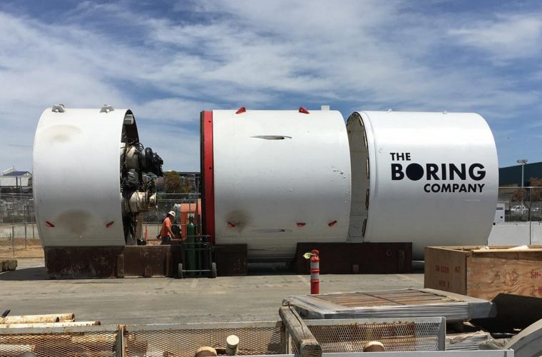 Boring News – 'The Boring Company' announces that its first car elevator is almost operational