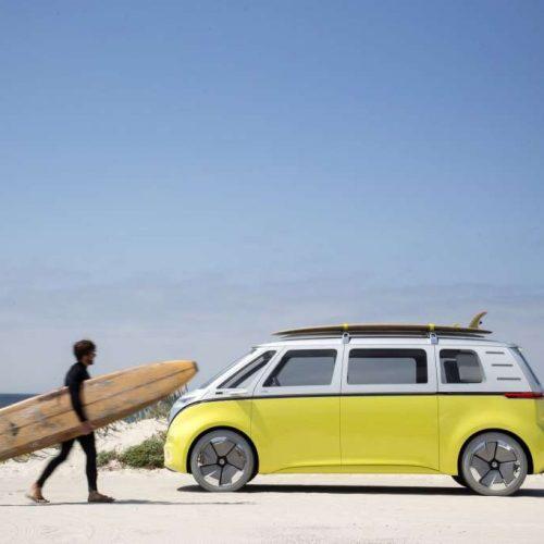 VW relaunch Kombi van as electric vehicle