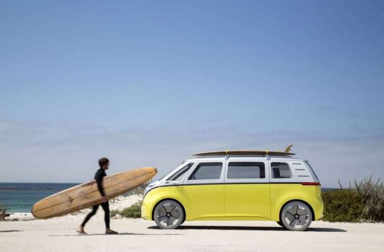 VW relaunch Kombi van as electric vehicle