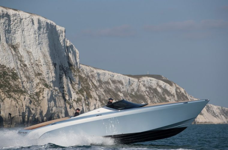 Aston Martin 'ships' first AM37 yacht