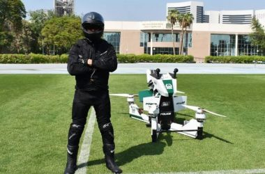 engineering careers  Dubai police issued Star Wars-style hover bikes
