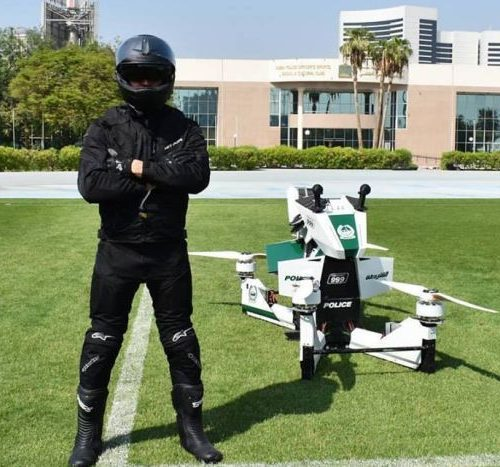 Dubai police issued Star Wars-style hover bikes