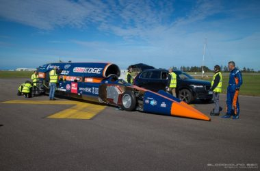engineering careers  Bloodhound revs up for maiden run