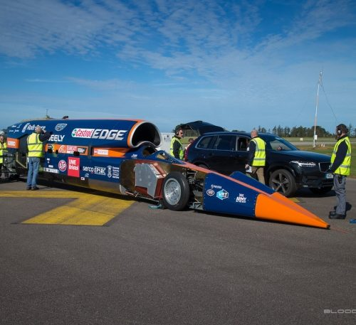 Bloodhound revs up for maiden run