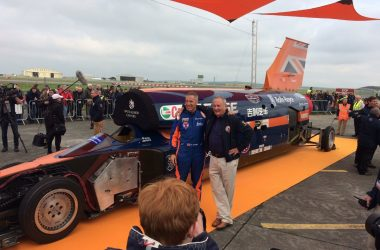 engineering careers  Bloodhound supersonic successfully completes first public runs