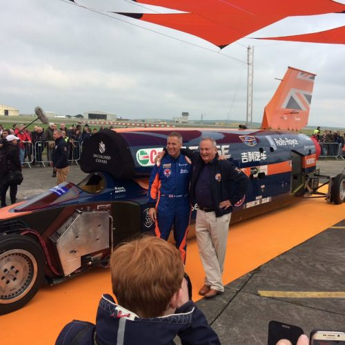 Bloodhound supersonic successfully completes first public runs