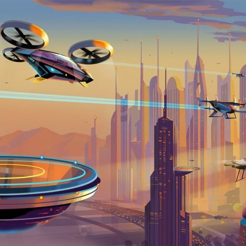 Flying taxi's propulsion system fired up for the first time