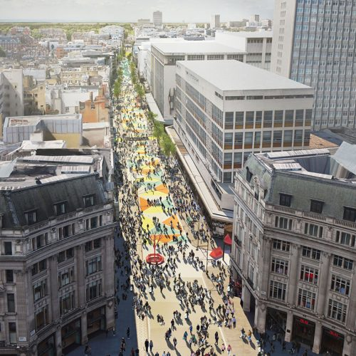 London Mayor Announces Oxford Street To Be Pedestrianised By Christmas 2018