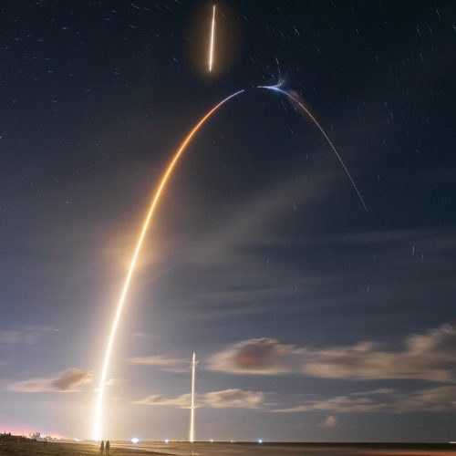 SpaceX Successfully Launches Mysterious Zuma