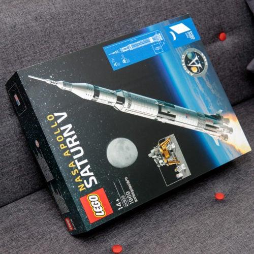 Win a meter-high LEGO NASA Apollo Saturn V
