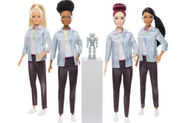 engineering careers  Mattel's latest Barbie builds robots & teaches kids to code