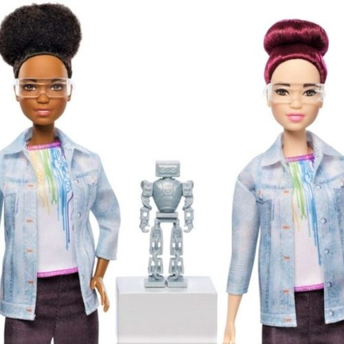 Mattel's latest Barbie builds robots & teaches kids to code