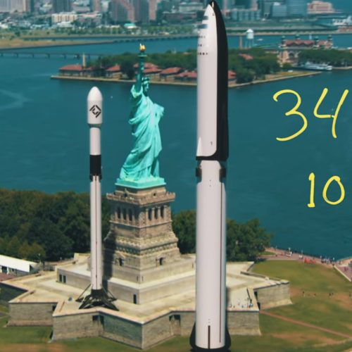 How the World's Tallest Rockets Stack Up
