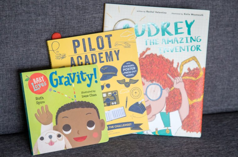 STEM Book Club June – Science Stories to get your little ones inspried
