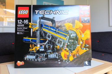 engineering careers  Win – LEGO Bucket Wheel Excavator 42055