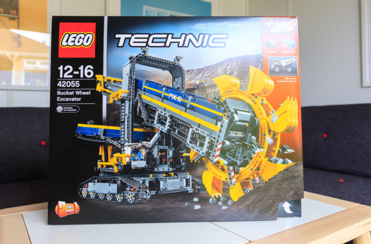 Win – LEGO Bucket Wheel Excavator 42055