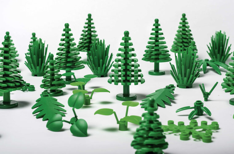 LEGO Plants Are Now Made from Real Plants