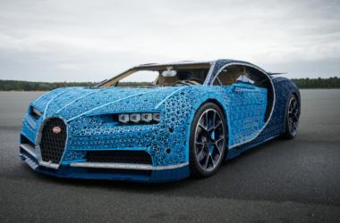 engineering careers  LEGO create a drivable Bugatti