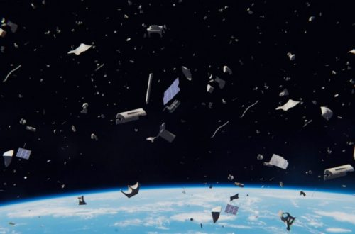 Engineers want to use a plasma beams to push space junk out