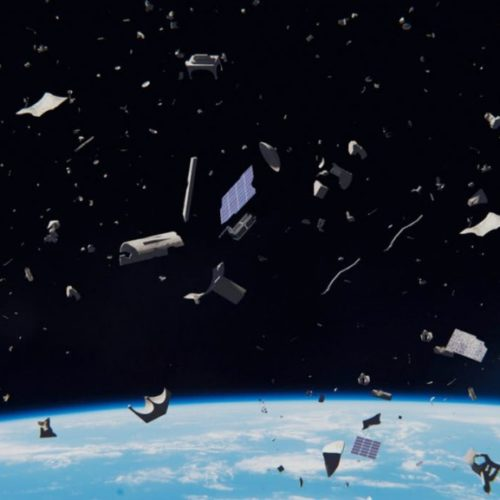 Engineers want to use a plasma beams to push space junk out of orbit