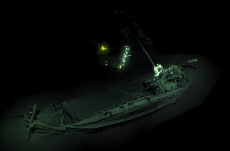 2,400 year old intact shipwreck discovered in Black Sea