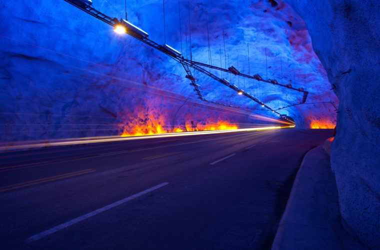Infographic — What Are The 10 Longest Tunnels in the World?