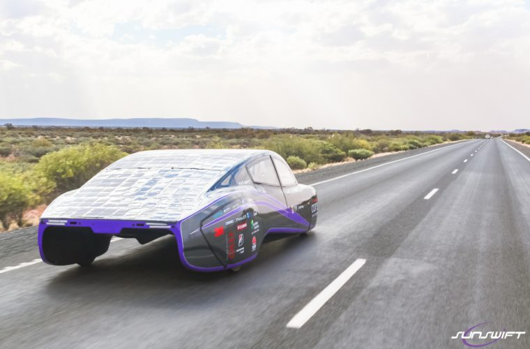 Solar-powered car breaks efficiency world record