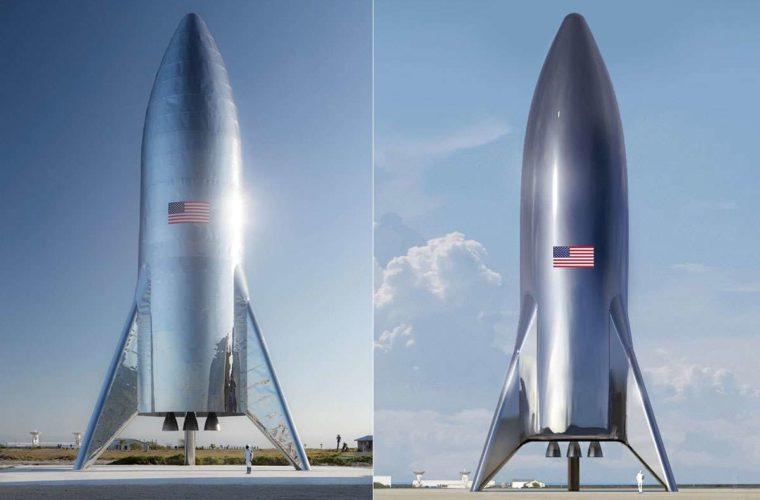 Elon Musk shows off SpaceX's Tintin-esque 'Starship'