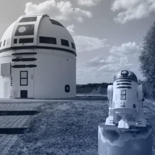 Zweibrück Observatory Get a Star Wars Makeover