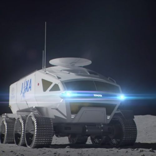 Japan's moon rover is a ... Toyota?
